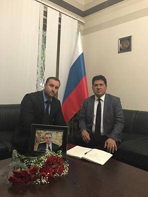 Antalya Rus Konsolosluğuna Başkan Gül'den Taziye Ziyareti