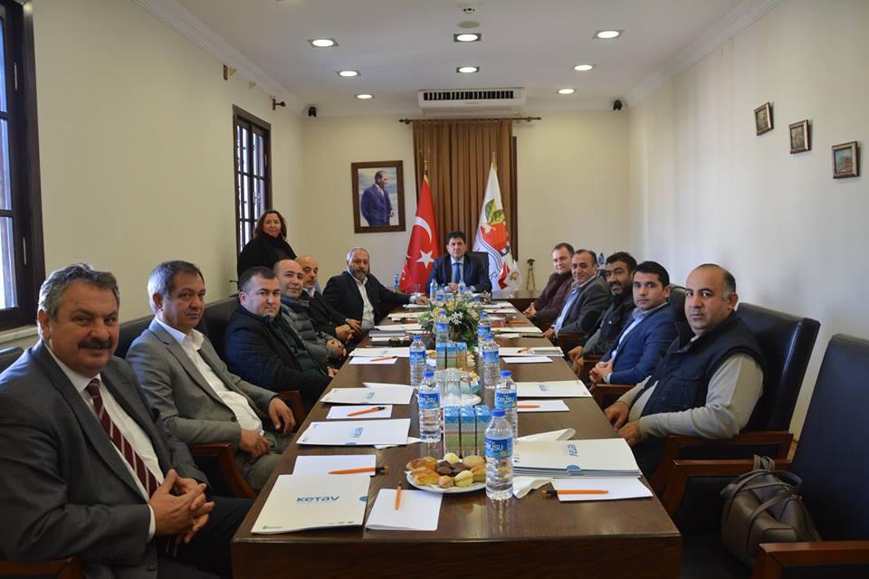 Başkan Gül'den Birlik ve Beraberlik Toplantısı