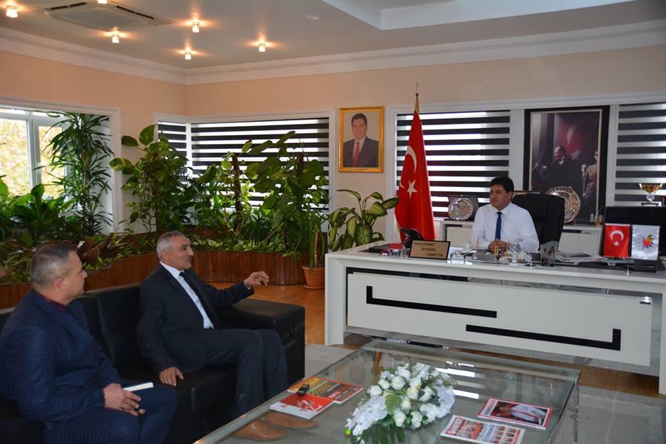 Gezi Sonrası İlçe Müftüsü Ermiş'ten Başkan Gül'e Teşekkür Ziyareti