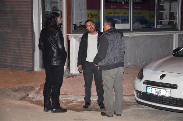 Antalya'da biber gazlı gasp