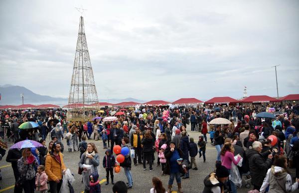 Alanya'da Uluslararası Noel Pazarı kuruldu