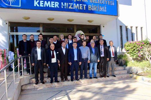 Büyükşehir'in Kemer Koordinatörü Hasan KAL oldu.
