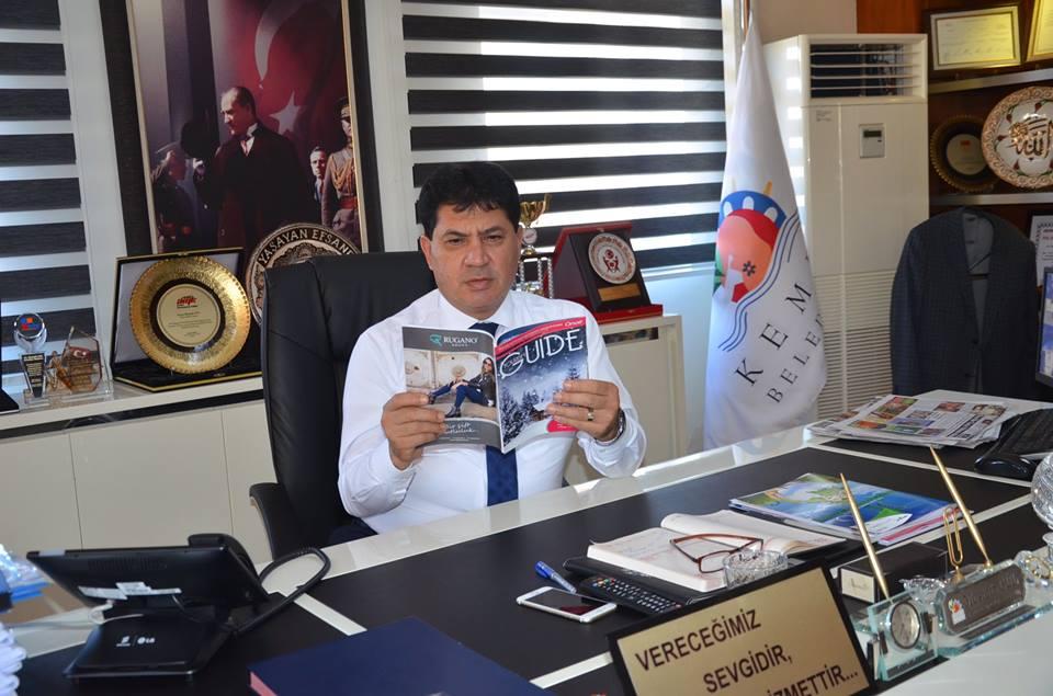 Başkan Onair Dergisini İnceledi