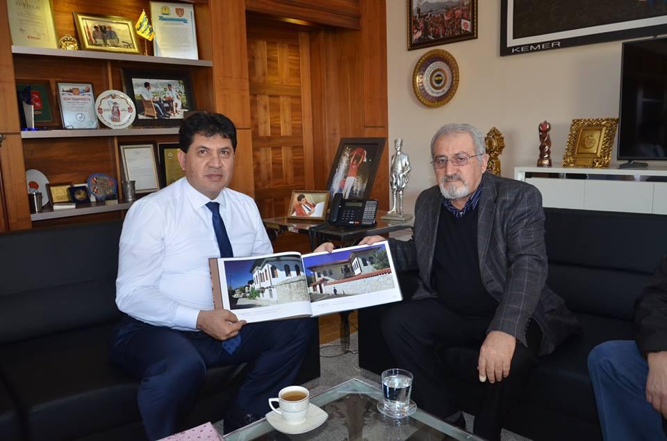 Demir'den Başkan Gül'e Teşekkür Ziyareti