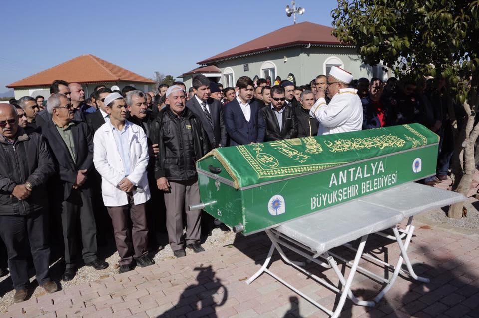 Şube müdürü Murat Ateş toprağa verildi
