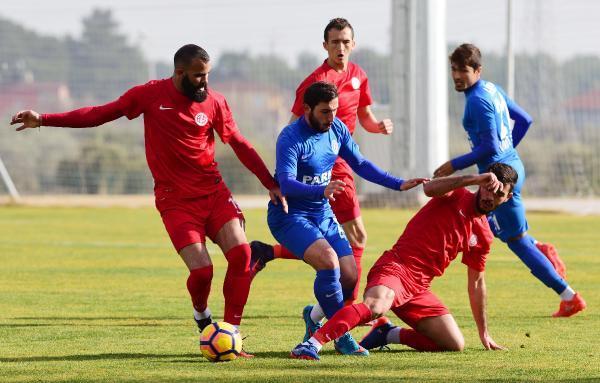 Hazırlık maçında Antalyaspor – 4  Kemerspor2003 -1