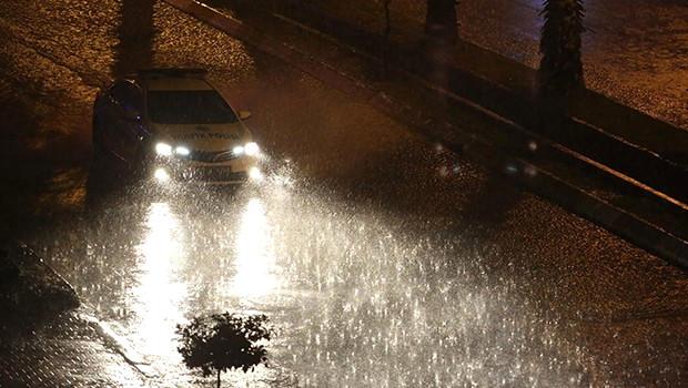 Antalya'da Metrekareye 123 Kilogram Yağış Düştü