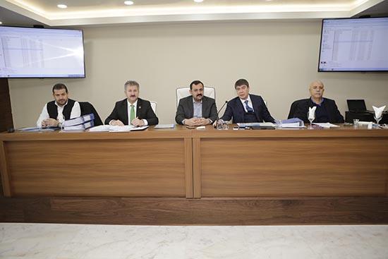 Büyükşehir Belediyesi Yeni Meclisi'nde grup toplantı odaları oluşturuldu
