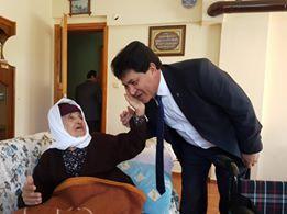 Başkan Gül, Asırlık Nineyi Ziyaret Etti