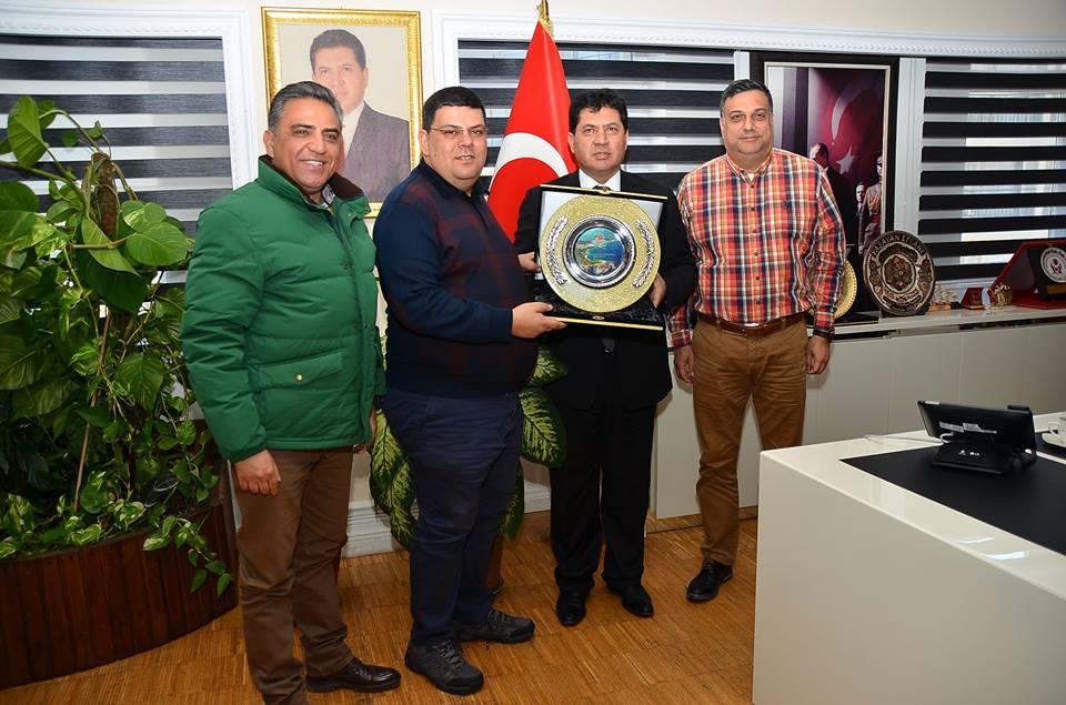 KKTC Milli Eğitim Bakanı Dr. Özdemir Kemer'de