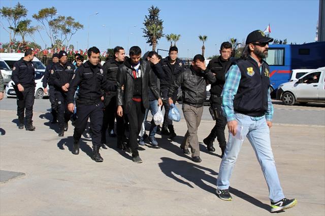 Antalya'da Deaş Operasyonu: 9 Gözaltı