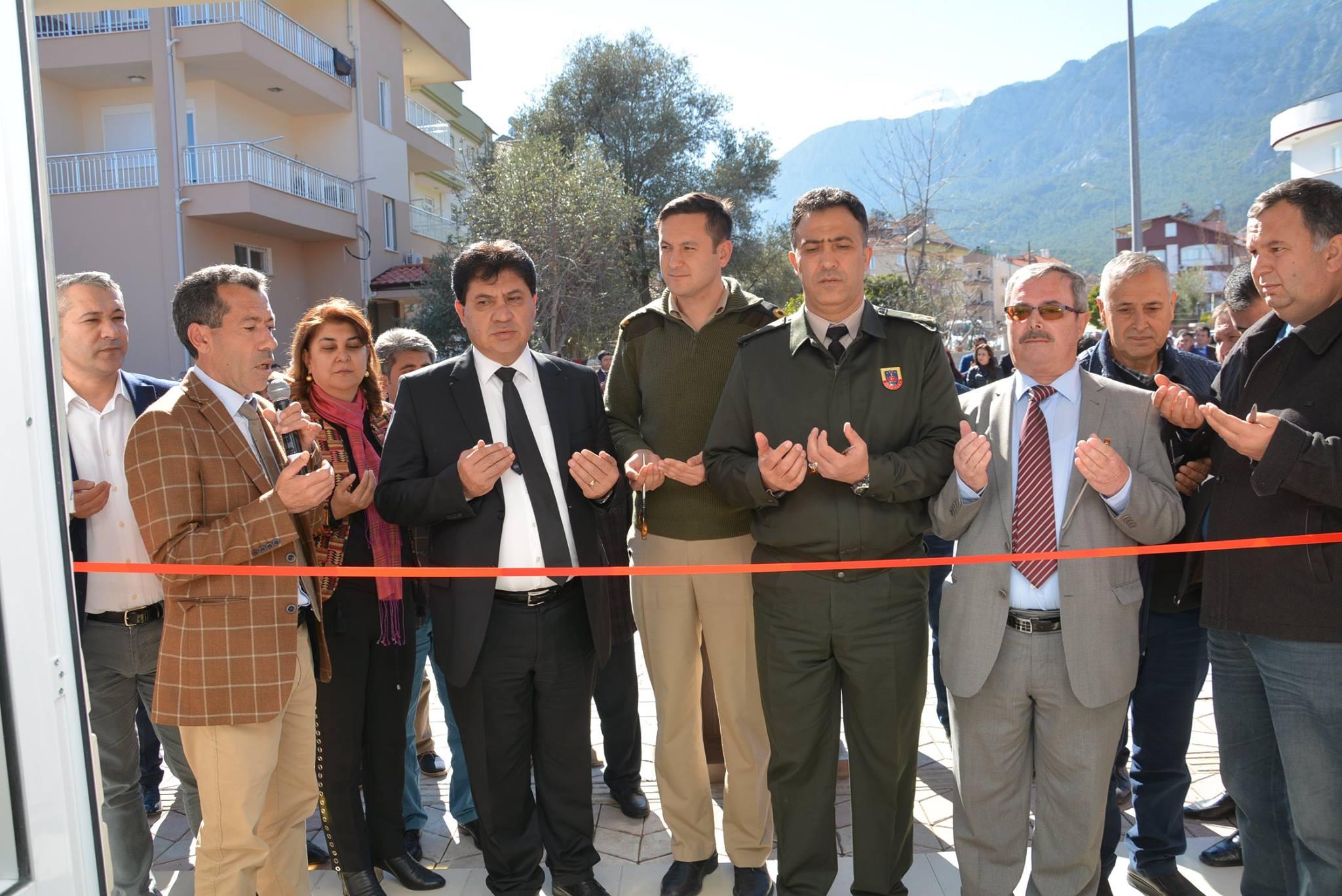 Aslanbucak Yeni Muhtarlık ve Hizmet Ofisi Tören ve Dualarla Açıldı