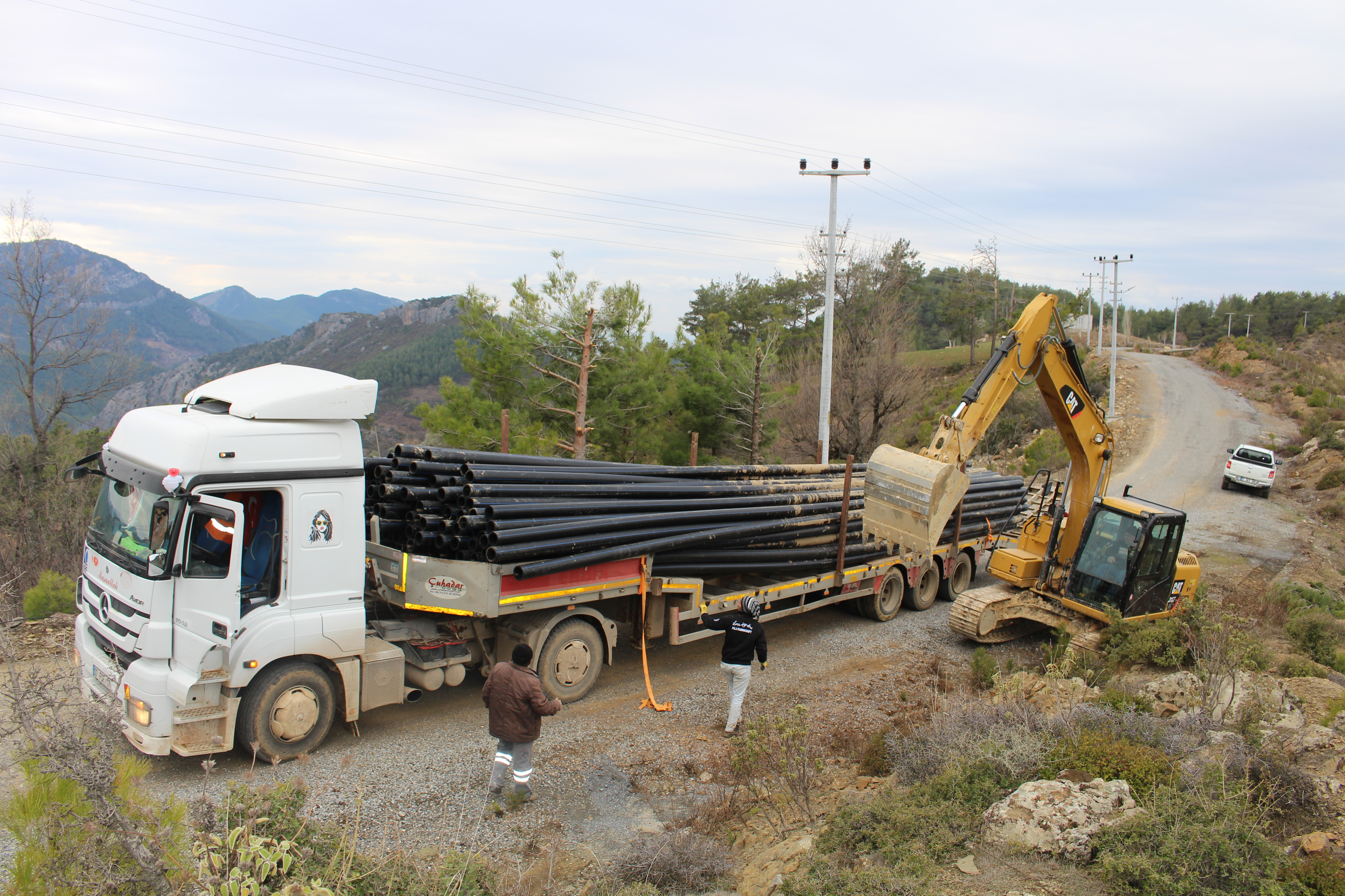 Gazipaşa'nın can suyu projesinde ikinci etap başladı