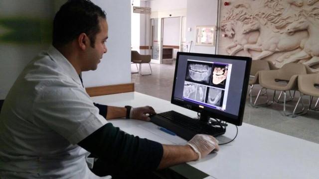 Adsm'de Dental Tomografi Cihazı Hizmet Vermeye Başladı