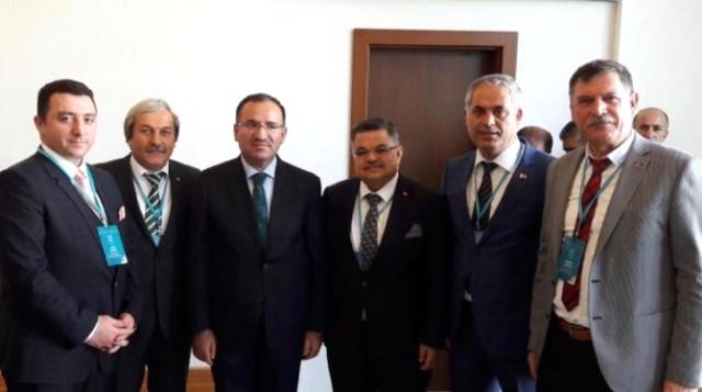 Başkan Bakıcı Antalya'da Yapılan İstişare Toplantısında Çeşitli Temaslarda Bulundu
