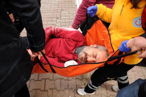 Intihara Kalkışan Emekli Astsubayı, Polis Kolundan Vurarak Kurtardı