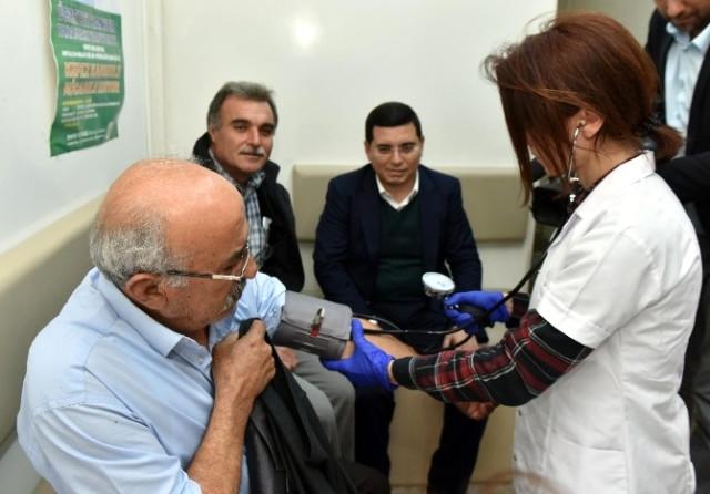 Kepez Belediyesi'nden Kalp Sağlığı Taraması