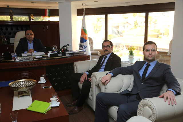 Tokman'dan Başkan Sarıoğlu'na Ziyaret