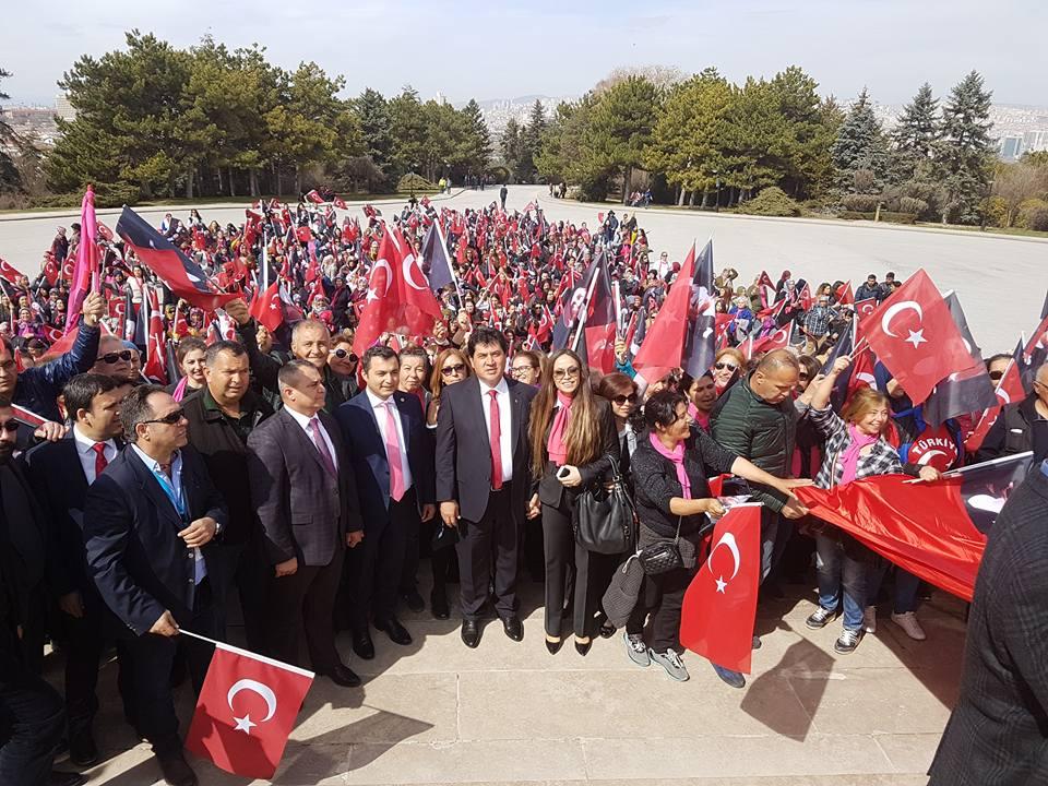 Kemerli Kadınlar Ankara'ya Gitti