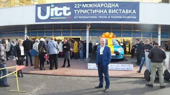 Ukrayna Fuarı'ndaKemer'e yoğun ilgi