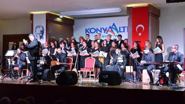 Konyaaltı'nda 'Çanakkale Türküleri'