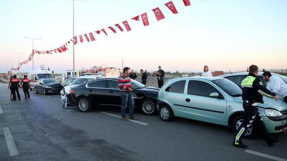 Bakan Zeybekçi'ye tahsis edilen araç kaza yaptı