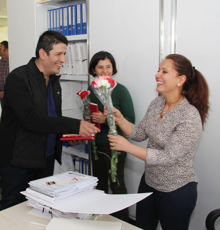 Döşemealtı Belediyesi'nden Kadın Personele 8 Mart izni