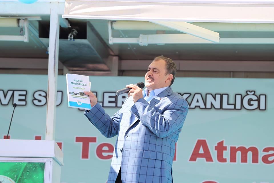 Orman ve Su İşleri Bakanı Eroğlu, Antalya'da