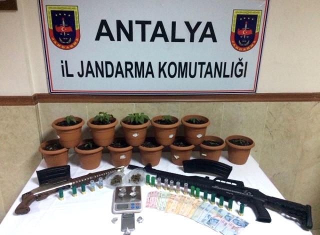 Antalya'da Yeni Nesil Zehir Operasyonu
