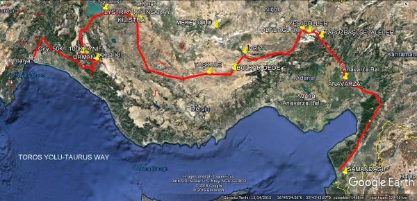 Antalya'dan Hatay'a Uzanan Bir Hayalin Yolunda İlk Etap: Toros Yolu
