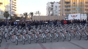 Atatürk'ün Antalya'ya Gelişi Anısına Muratpaşa Bisiklete Bindi