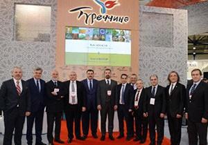 Antalya, Kiev fuarında tanıtıldı