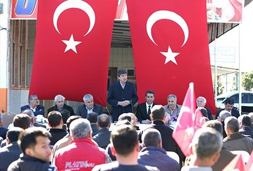 """Başkan Türel: """"Mesele memleket, kararımız evet"""""""