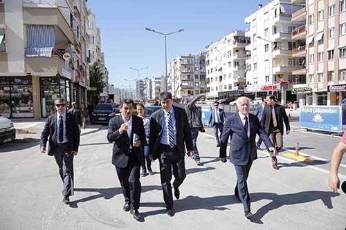Başkan Türel, Açılışı Yapılacak Caddeyi İnceledi
