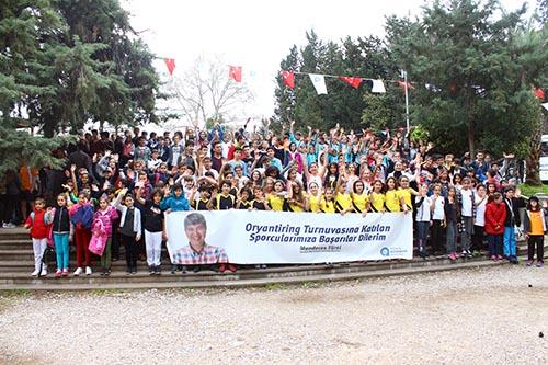 Okullar Ligi'nde oryantiring heyecanı sürüyor