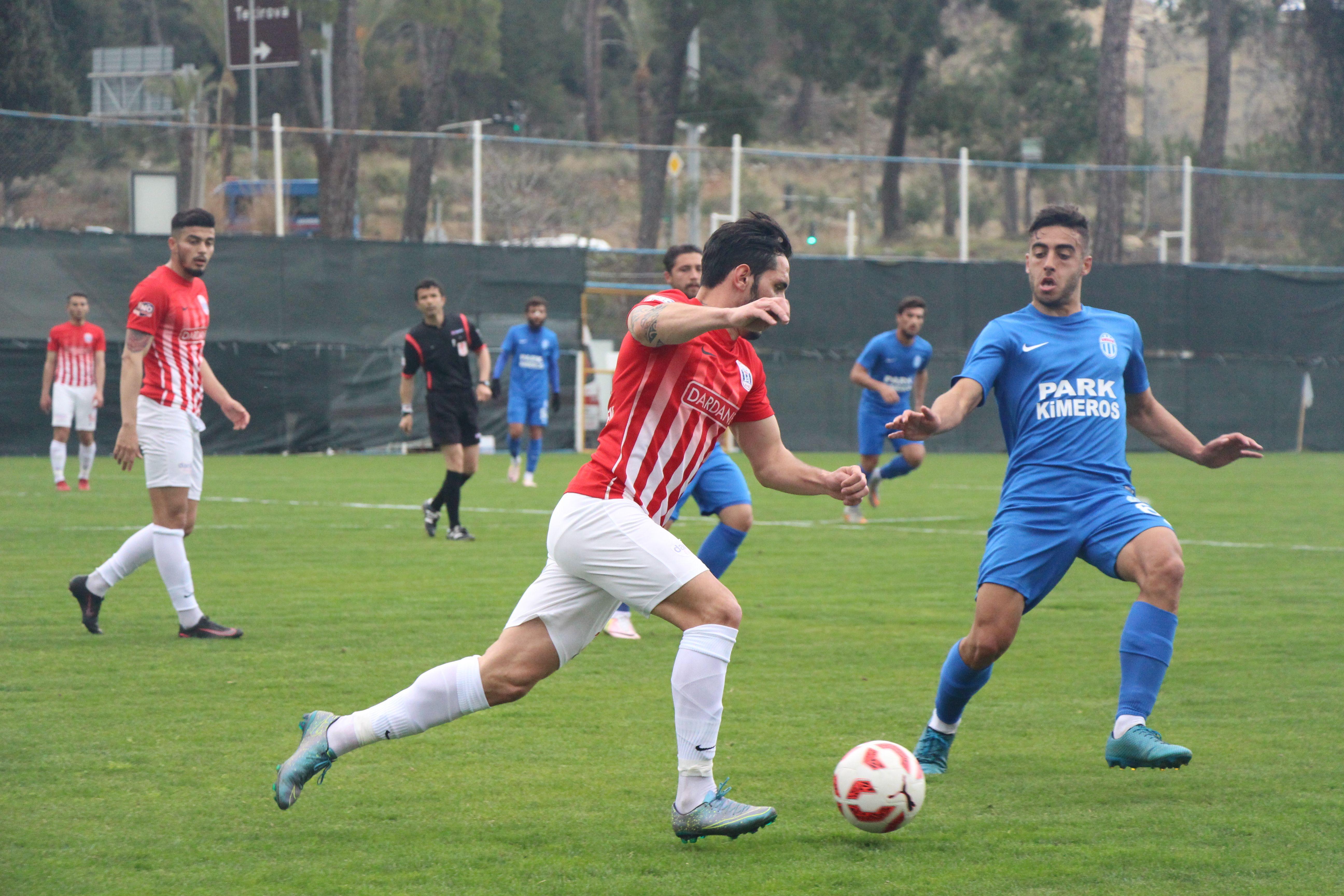 Kemerspor 2003 Sağanak Yağmurda gol oldu yağdı 4-1