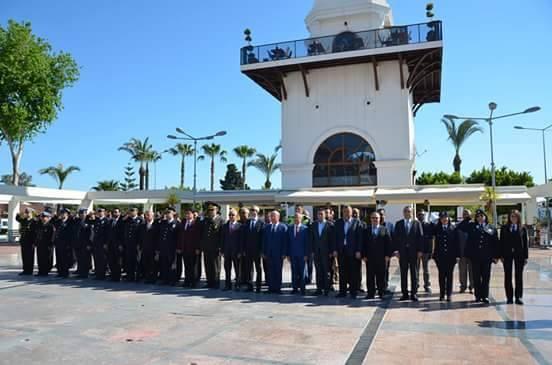 10 Nisan Polis Haftası Kemer'de Törenlerle Kutlandı