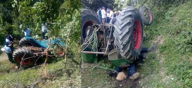 Kemer 'de Traktör 30 Metre Uçuruma Yuvarlandı: 3 Yaralı