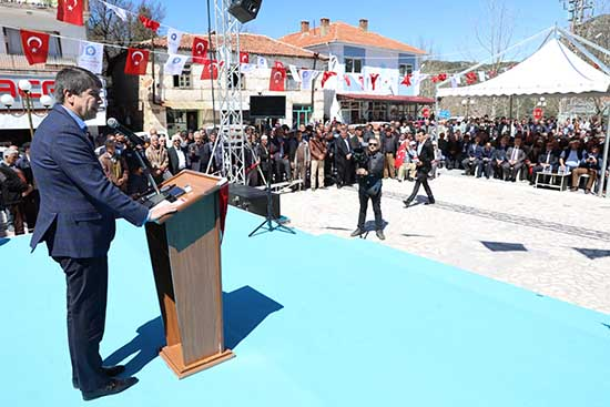 """Başkan Türel: """"Tek adam 'Yüce Türk Milletidir"""""""