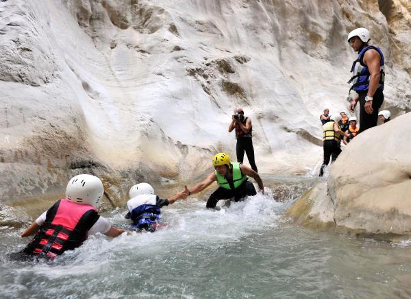 Antalya Adrenalin Tutkunlarının Gözdesi Kanyonlar