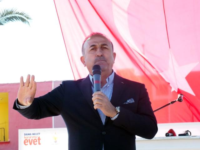 """Bakan Çavuşoğlu: """"Bunun Kitabını Alparslan Türkeş Yazdı."""