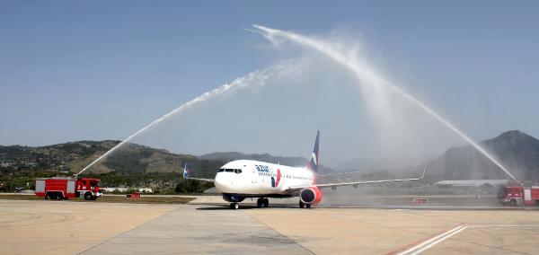 Rusya'dan İkinci Charter, 189 Yolcusuyla Antalya'ya Geldi