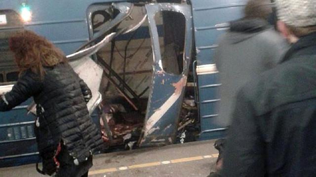 Son Dakika! Rus Metrosunda Büyük Patlama: 10 Kişi Hayatını Kaybetti