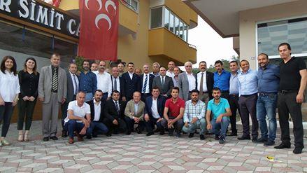 Kemer MHP ye  Teşekkür Ziyareti
