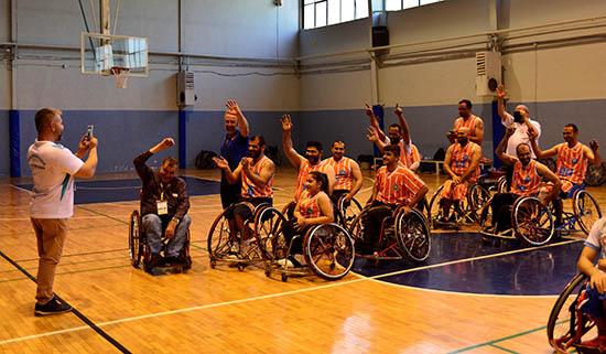 ASAT Tekerlekli Sandalye Basketbol Takımı Süper Ligde