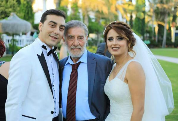 Ahmet Mekin'in mutlu günü