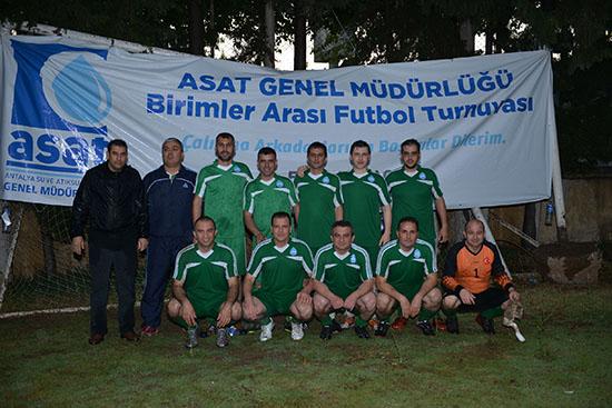 ASAT Birimler arası futbol turnuvası sona erdi