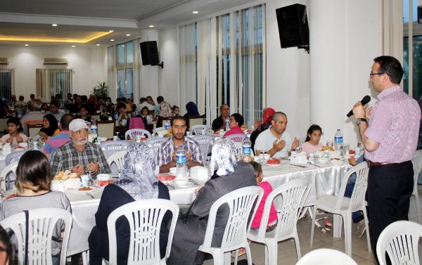 Müftülükten Suriyelilere iftar