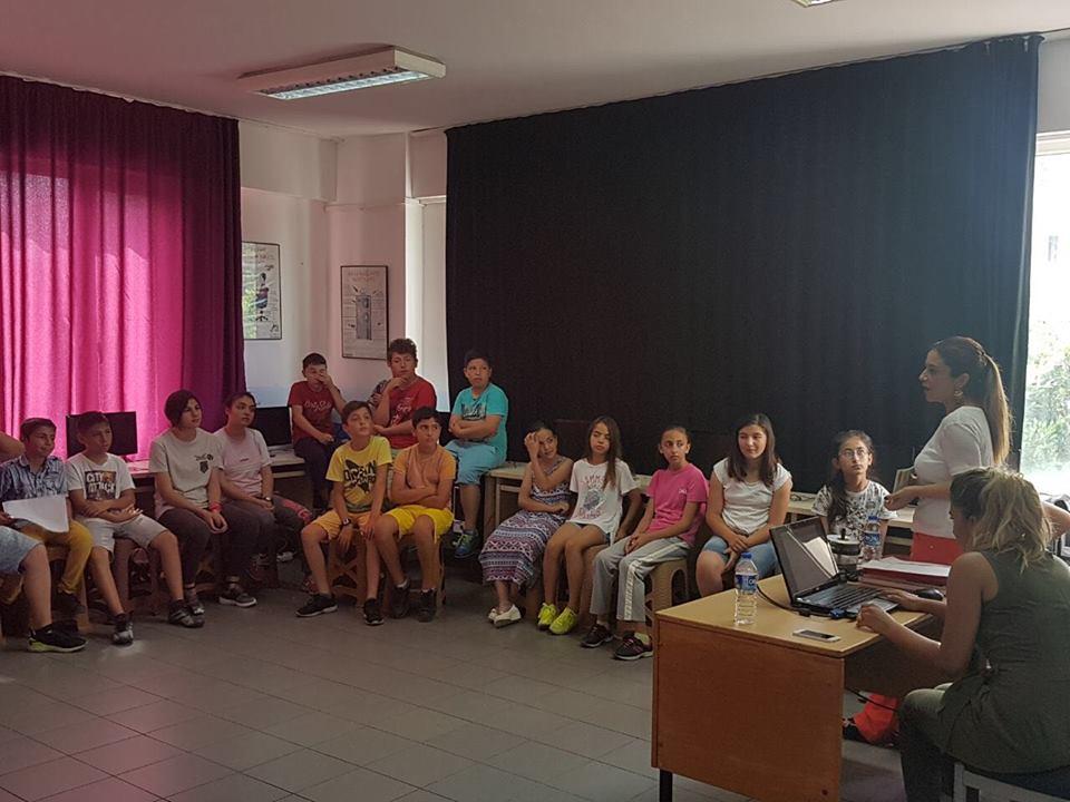 Çocuklara çevre semineri