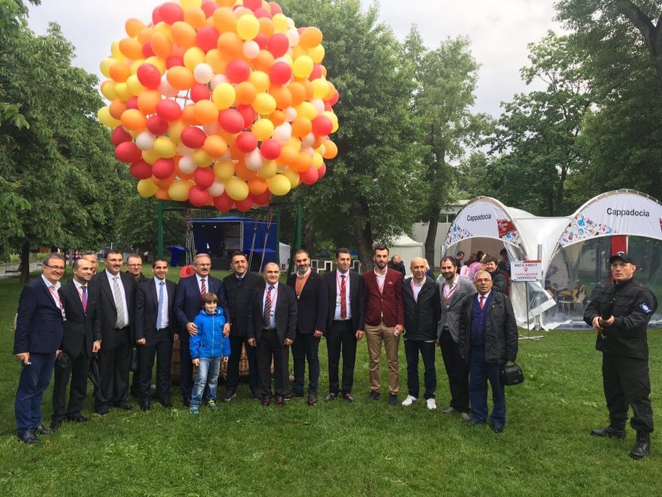 """Moskova'daki """"Türkiye Festivali""""ne Rus İlgisi"""